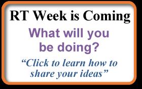 Celebrate RT Week 2015 Button