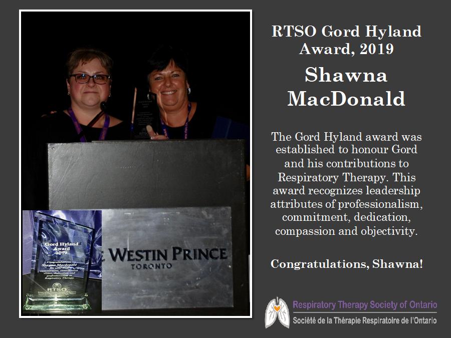 Shawna award